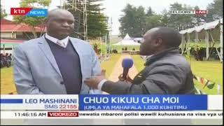 Matayarisho ya kuhitimu kwa mahafala wa Chuo kikuu cha Moi