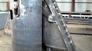 видео Устройство буронабивных свай диаметром 1000