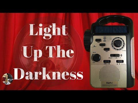 Kaito KA340 Emergency Lantern AM FM SW WB MP3 & BT Radio Review