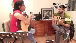 How to really (beyond doubt) learn a falseta /Solea por buleria by Paco de Lucia/ Ruben Diaz lessons