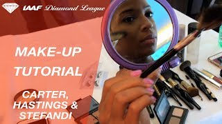 Make-up tutorial with Olympic Champions