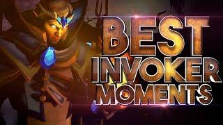 BEST Invoker Moments in Dota 2 History