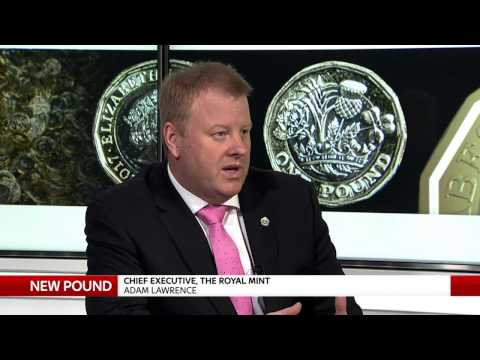 Chief of the Royal Mint explains security measures on the new pound coin