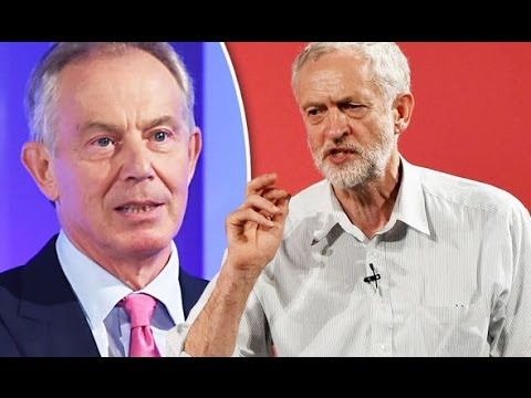 New Labour 'Messiah', Tony Blair, attempts to stop Jeremy Corbyn leadership bid