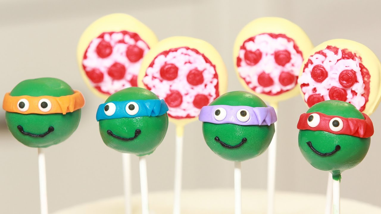 How To Make Pizza Cake Pops