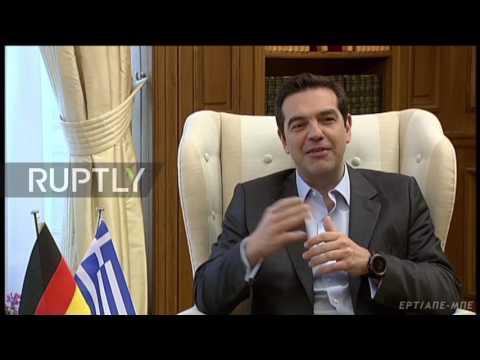 Greece: Tsipras calls for repairing Germany relations during Steinmeier visit