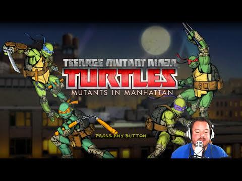 TMNT: Mutants in Manhattan Recorded Stream Gameplay