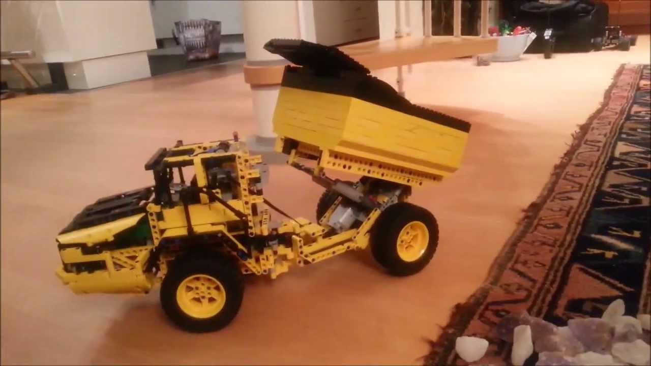 lego technic truck b model 42030 wheel loader modified. Black Bedroom Furniture Sets. Home Design Ideas