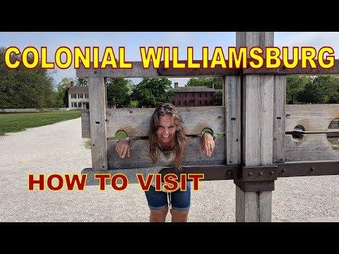 Colonial Williamsburg  //  Historic Virginia Triangle  //  Full Time RV