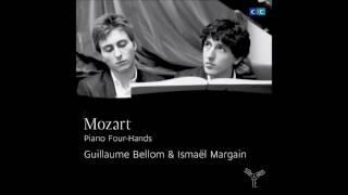 Guillaume Bellom & Ismaël Margain play Wolfgang Amadeus Mozart (Audio video)