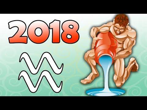 Гороскоп на 2018 год Водолей. Зодиакальный гороскоп на 2018 год для Водолея.
