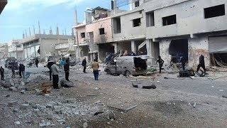وقف العمليات القتالية لمدة 48 ساعة في مدينة درعا