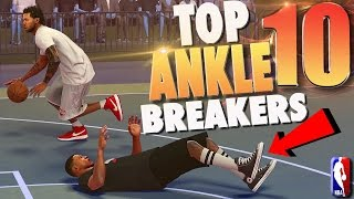 NBA 2K17 TOP 10 PARK ANKLE BREAKERS & Crossover Dribble Moves