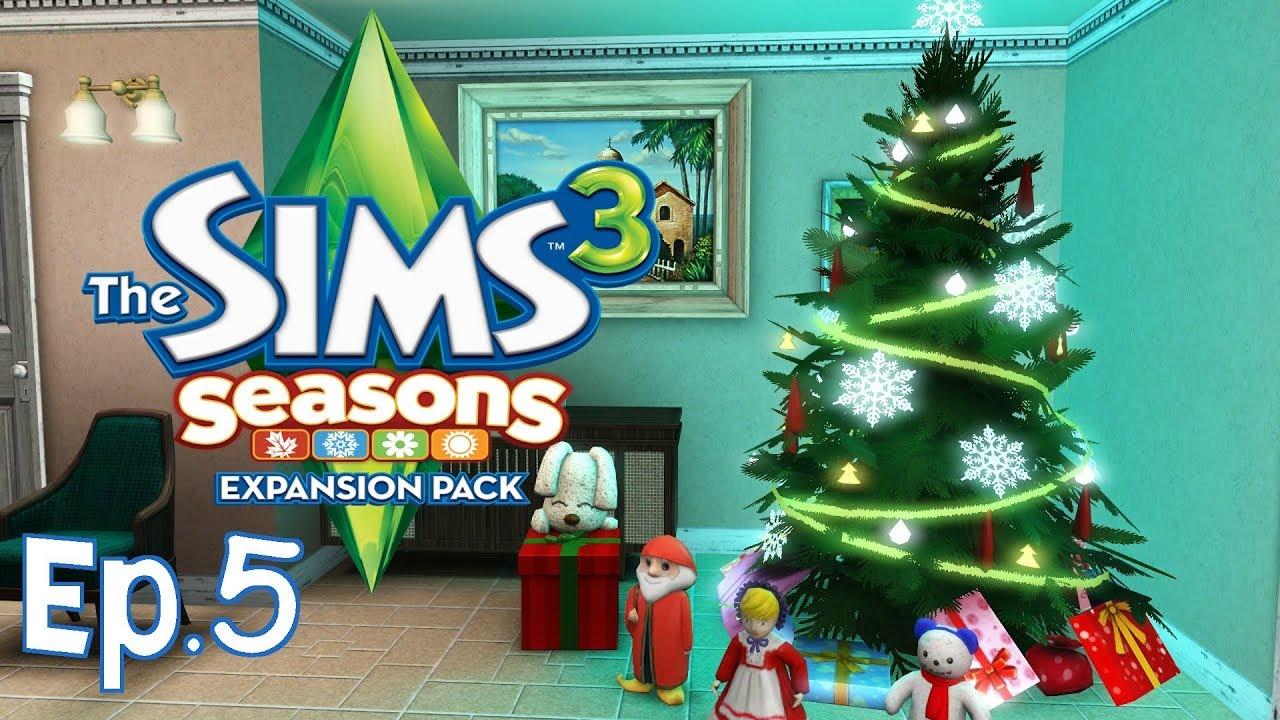 Albero Di Natale The Sims 3.The Sims 3 Pranzo Di Natale Ep 5 Stagioni Gameplay Ita Youtube