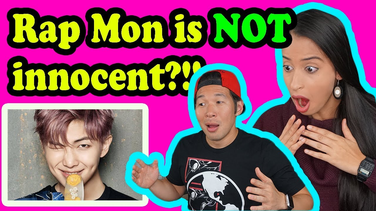 REACTING TO BTS - RAP MONSTER - EXPENSIVE GIRL!!!