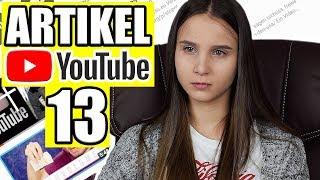 Artikel 13 / Warum es Youtube nächstes Jahr nicht mehr gibt - Celina