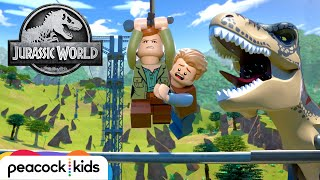 Zipline Rescue | LEGO JURASSIC WORLD: LEGEND OF ISLA NUBLAR