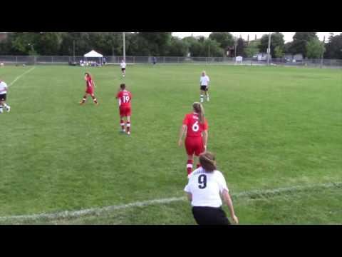 Barrie SPIRIT U14 Girls FC vs High Park FC  Vaughan Tournament Final