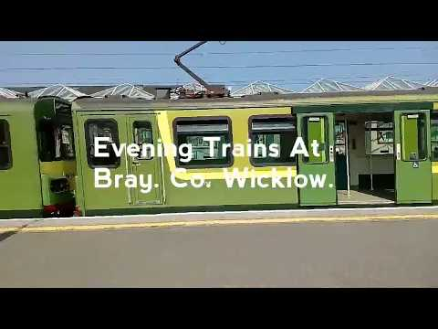 Trains At: Bray Daly Station 672018