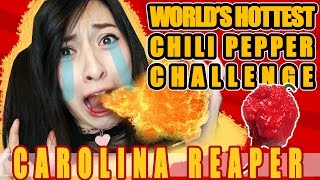 World's Hottest Chili Pepper Challenge: Carolina Reaper