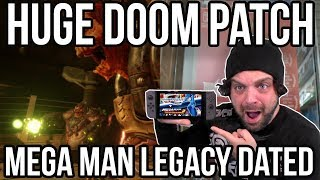 DOOM for Switch HUGE PATCH - Mega Man Switch FAIL! | RGT 85