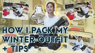 How I Pack My Winter Outfit + Tips | Kim Chiu PH