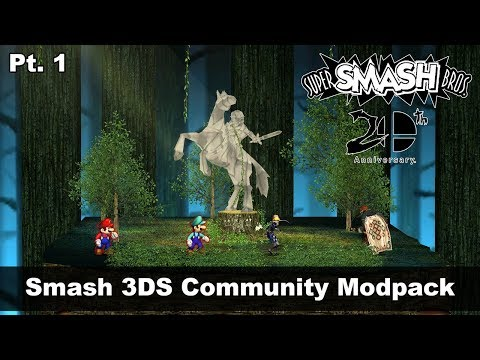 Smash 3DS Community Modpack Part 1Super Smash Bros 3DS Mod #18