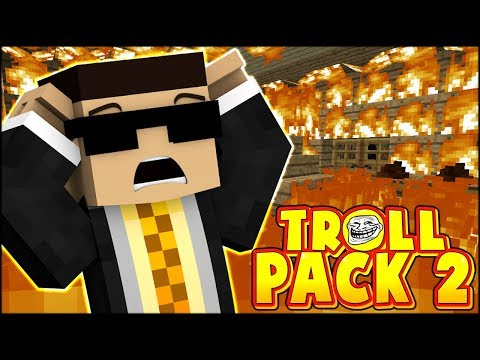JEROME AND VEGETO DESTROYED THE SERVER!!! THIS NEVER HAPPENED   Troll Pack Season 2 #6 (Minecraft)