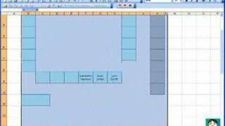 Microsoft Excel #02: Create a Seating Chart