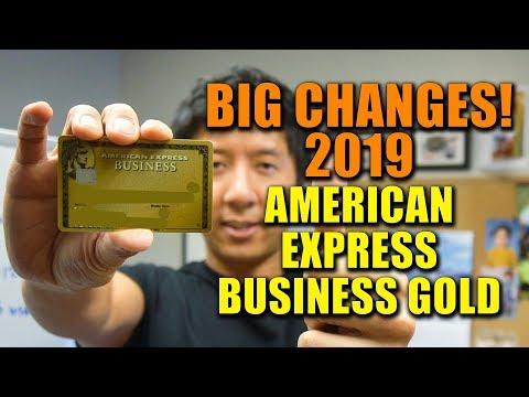 BIG CHANGES AMEX BUSINESS GOLD CREDIT CARD (2019) | 4X THE POINTS ON CATEGORIES!