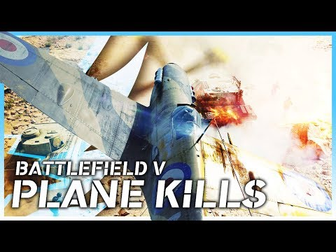 Battlefield V | Fighter Plane Kill Montage | By H8mEx