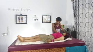 Abdominal Massage Therapy Reflexology Techniques for Glowing Skincare and Weigh Loss