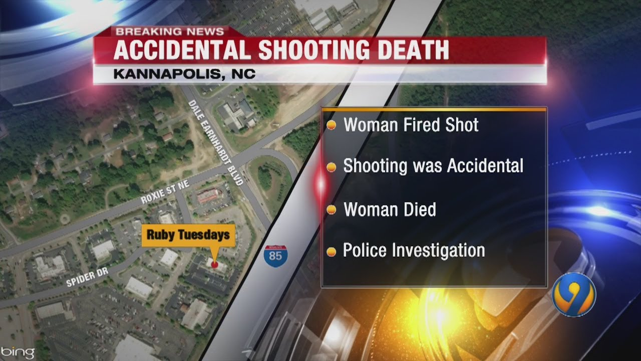 North Carolina, Woman Accidentally Shoots Herself And Dies