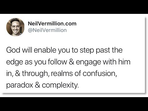 Bringing You To The Edge - Daily Prophetic Word