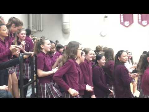 Nova Classical Academy Talent Show 2016   Mandy, Jannie and Alex 2nd performance