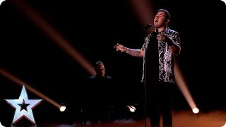 Crooner Jacob Jones sings his heart out | Semi-Finals | BGT 2019