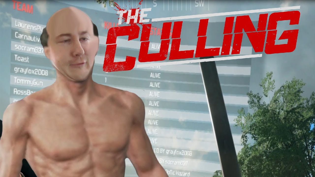 NAKED MAN HUNGER GAMES - THE CULLING - BROWNLIGHT - YouTube