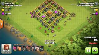 OMG!!! CONTINUE 2 ATTACKS FAILED WITH ONLY 2% || 2 % KI KEEMAT|| clash of clans || coc || Arpit2.2