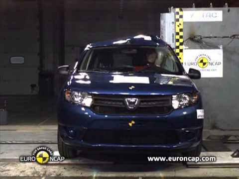 2013 dacia sandero euro ncap test youtube. Black Bedroom Furniture Sets. Home Design Ideas