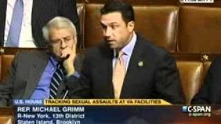 Rep. Michael Grimm Speaks On House Floor In Support Of His Veterans Dog Training Therapy Act