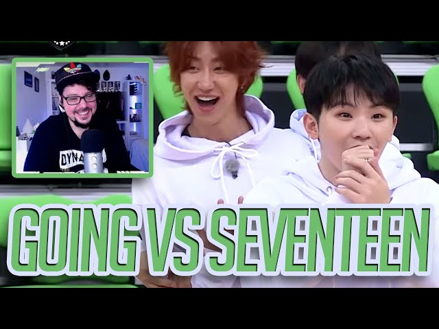 Mikey Reacts to GOING VS SEVENTEEN