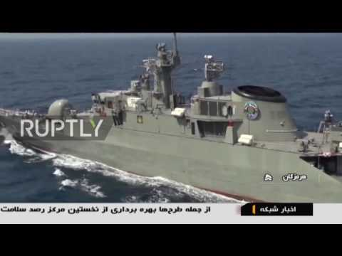 Iran: China and Iran hold maritime drills in Strait of Hormuz