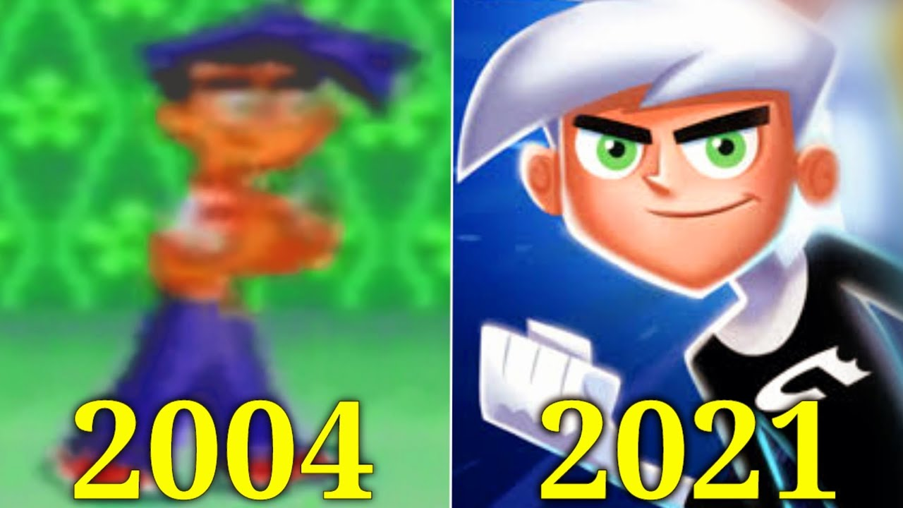 Evolution of Danny Phantom Games 2004-2021