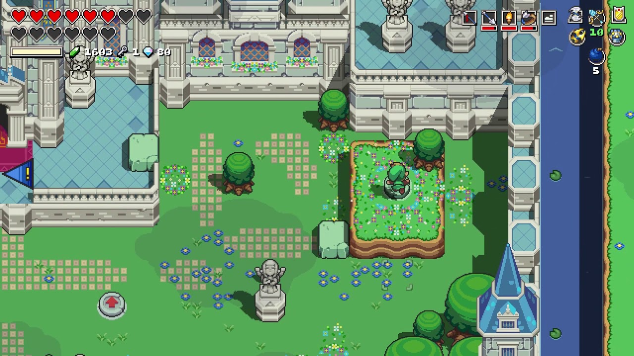 Cadence Of Hyrule Hyrule Castle Statue Puzzle Guide Youtube