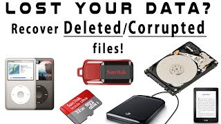 Data Reacovery Software !! Recover Deleted Photos And Files !! Top 2018 Software !! By S.R Institute