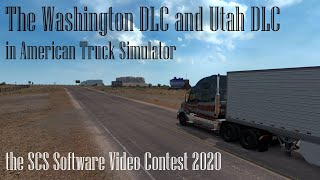 the Washington DLC and Utah DLC in ATS | SCS Software Video Contest 2020 | Elite ENTERTAINMENT Prod.