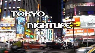 Nightlife in Shinjuku, Tokyo (Vlog #15)