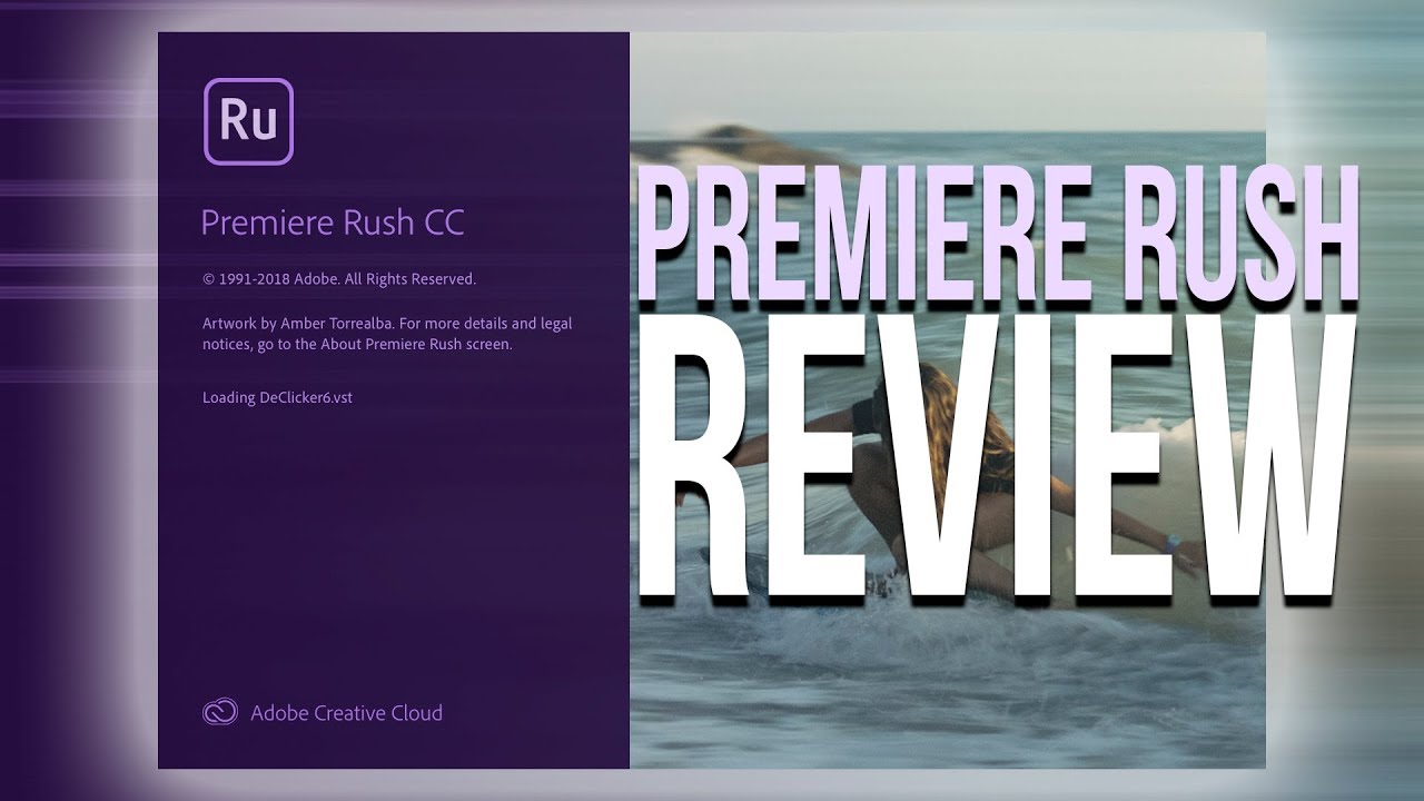 Adobe Premiere Rush Review - October 2018 Release