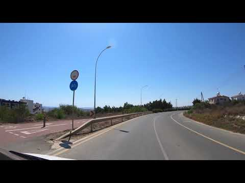 Cyprus - Protaras to Ayia Napa Ride 4k 60fps GoPro Hero
