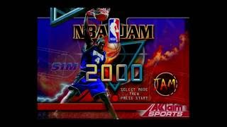 NBA Jam 2000   N64 gameplay